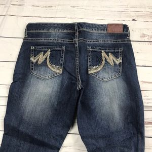 Women's Maurices Size 9 Low Rise Boot Jeans